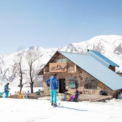 Skifahren im Iran