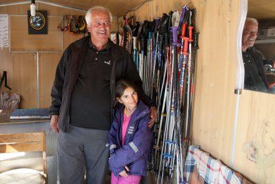 Sahel's Großvater führt ein Skiverleih in Shemshak.