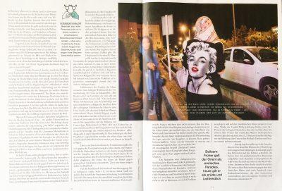 """Ein Foto aus dem Buch """"Among Women"""" wurde für ein Artikel des Magazines """"Flutter"""" verwendet."""