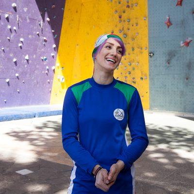Farnaz Esmaeilzadeh iranische Kletterin aus zanjan