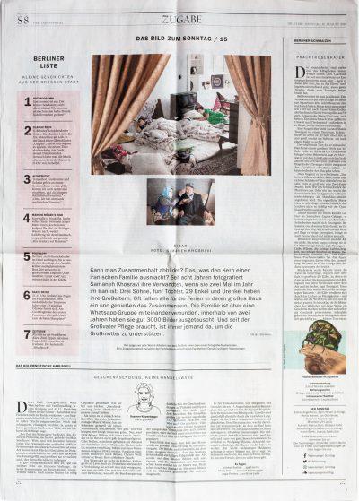 Tagesspiegel Sonntag Aug. 2019